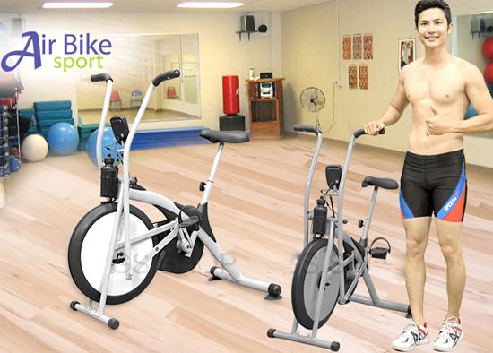 Xe đạp tập thể dục Air Bike có tốt không? Có nên mua không?