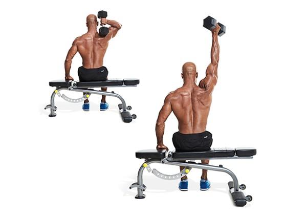 Bài tập Dumbbell One Arm Triceps Extension