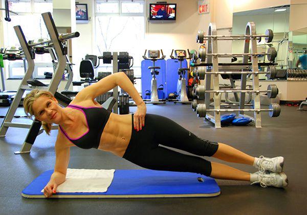 Bài tập Side Plank
