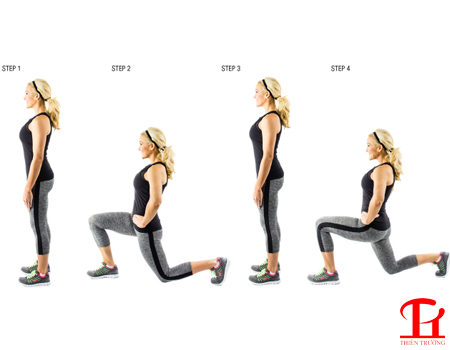 Bài tập Walking Lunge