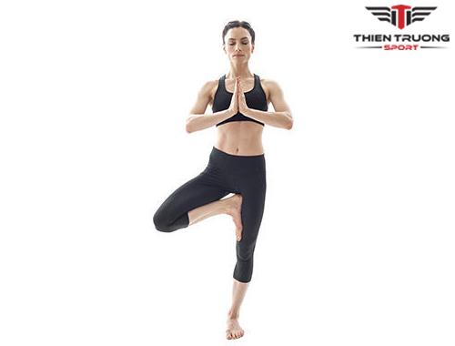 Bài tập Yoga Tree Pose