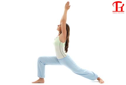Bài tập Yoga tư thế chiến binh