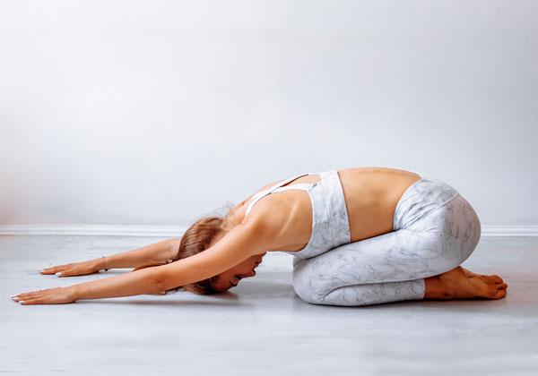 Bài tập Yoga tư thế em bé