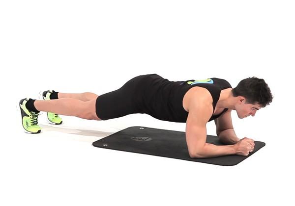 Bài tập giảm mỡ bụng Plank