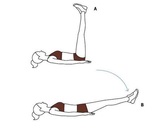 Tập nâng chân