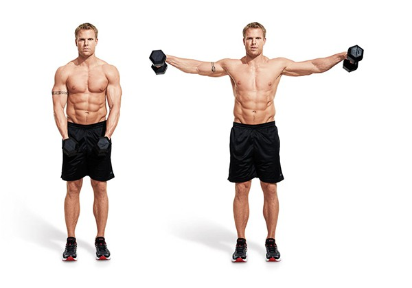 Cách tập Side Lateral Raise