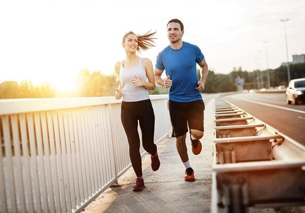 Chạy bộ giúp giải tỏa mệt mỏi