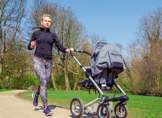 Chạy bộ rất tốt cho phụ nữ sau sinh