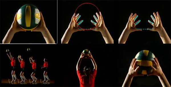 Kỹ thuật chuyền bóng cao tay