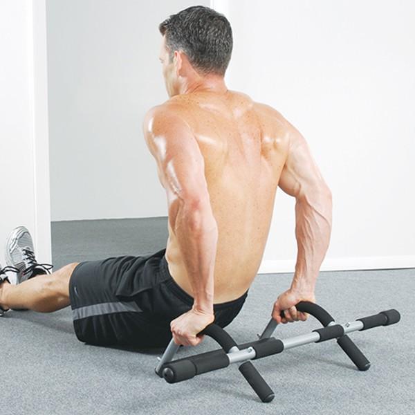 Tập cơ tay sau với xà đơn Iron Gym 1557A