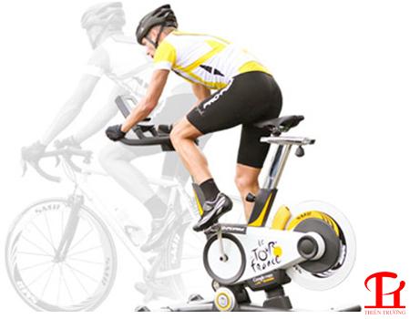 Tập với xe đạp tập thể dục giúp tăng chiều cao