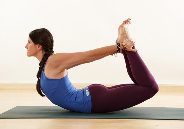 Tư thế Yoga cây cung