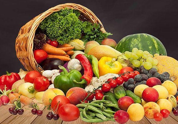 Ăn rau củ quả giảm vòng 2