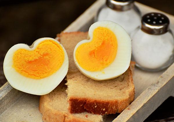 Ăn sáng giảm cân bằng trứng