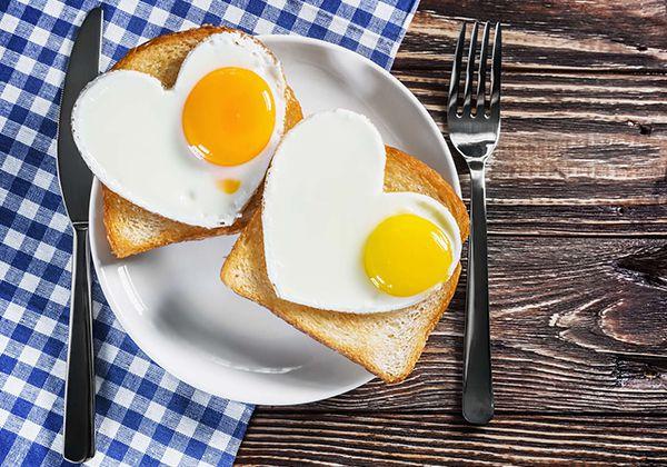 Ăn trứng giúp giảm cân đẹp da