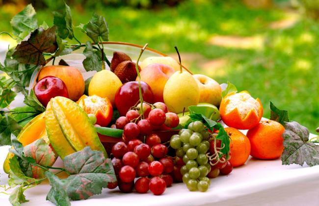 tích cực ăn nhiều trái cây