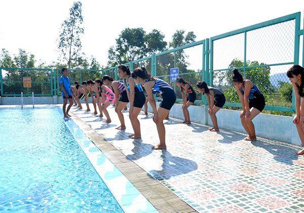 Bài tập bơi trên cạn