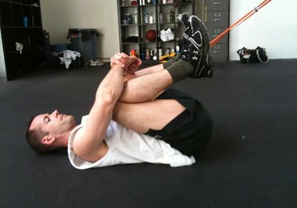 Bài tập giãn cơ lưng dưới