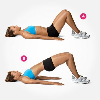 Bài tập Gym cho khung xương chậu
