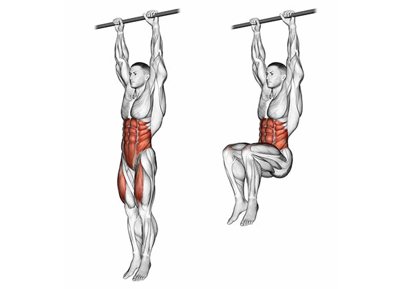 Bài tập Hanging Knee Raises
