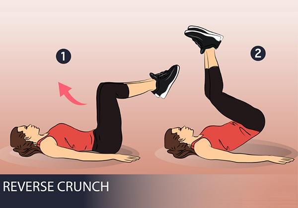 Bài tập Reverse Crunch