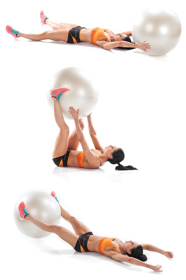 Bài tập Stability Ball V-Pass