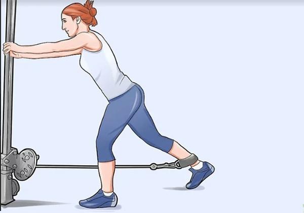 Bài tập Standing Leg Curl