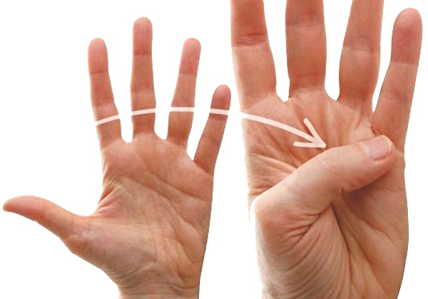Bài tập uốn ngón tay