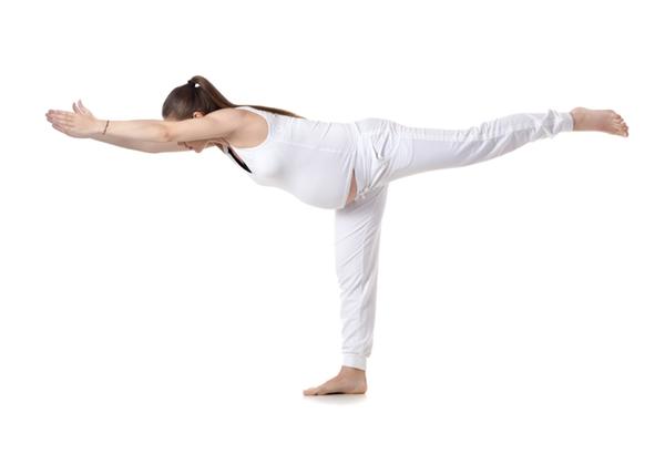Bài tập Yoga Warrior III Pose