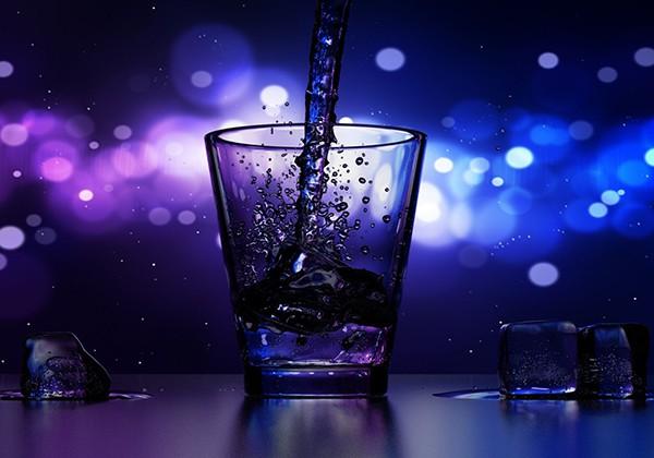 Bổ sung nước khi thức khuya