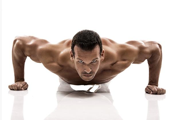 Cách hít đất lên cơ vai và cơ ngực