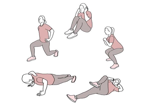 Cách tập Circuit Training
