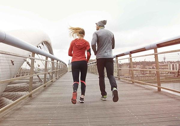 Chạy bộ giảm cân sau tết