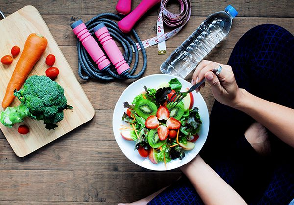Chế độ ăn giảm cân trong 1 tháng