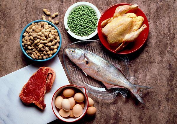 Chế độ ăn khi tập bụng