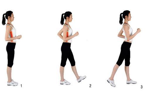 Cách đi bộ giảm mỡ bụng