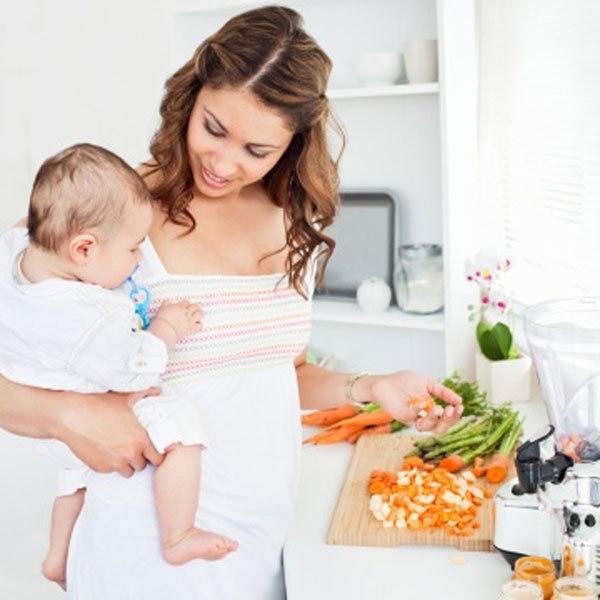 giảm béo sau khi sinh nhanh chóng