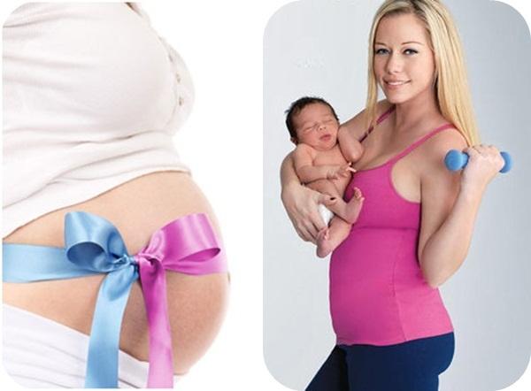 giảm cân sau sinh an toàn