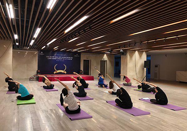 Tập Yoga giúp ngủ ngon