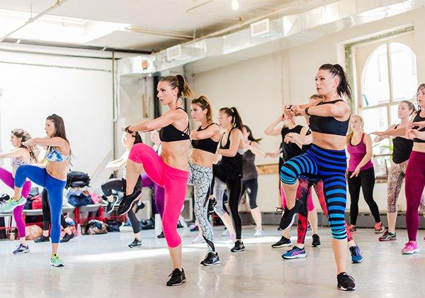 Tập Aerobic giúp giảm cân