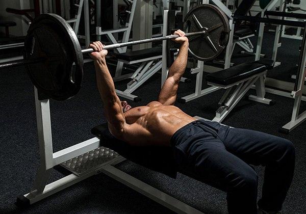 Tập Bench Press tăng Testosterone