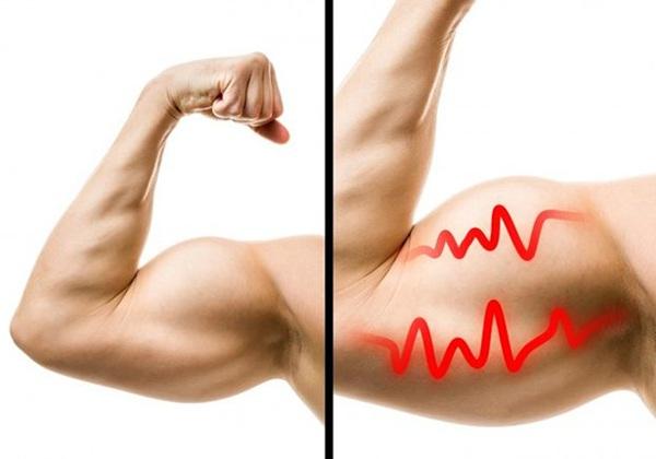 Tập Gym bị co giật cơ bắp