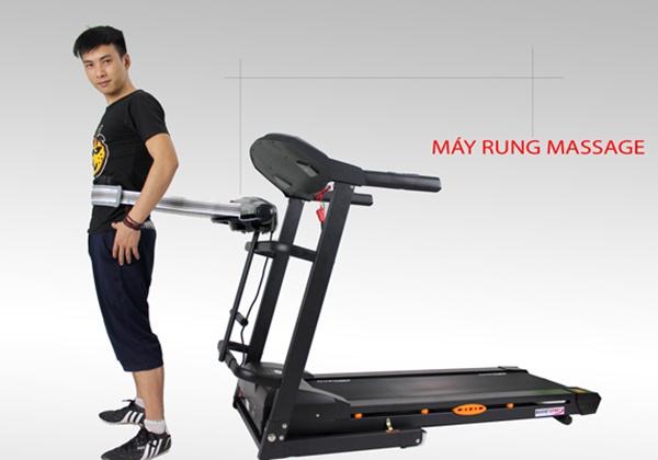 Tập Gym giảm mỡ bụng với máy massage