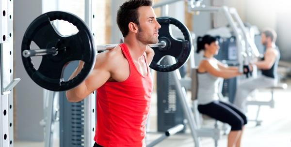 tập gym cho nam