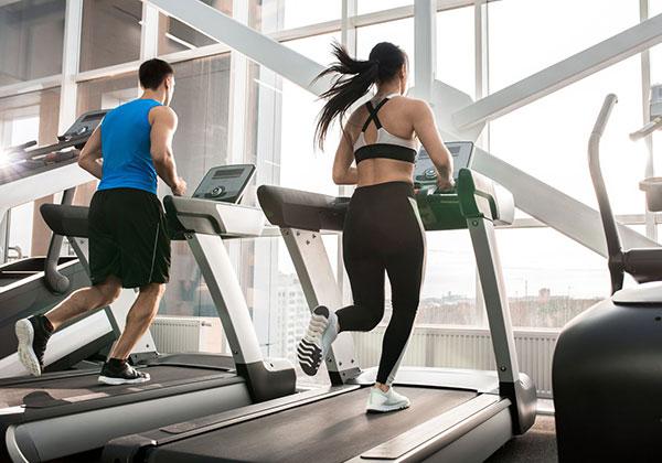 Tập máy chạy giúp tim khỏe mạnh
