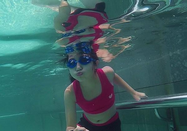 Tập nín thở dưới nước