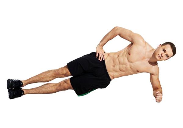 Tập Side Plank đúng cách