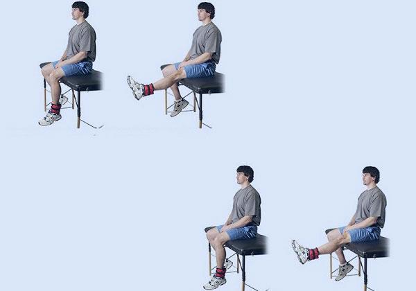 Tập tạ chân tăng chiều cao
