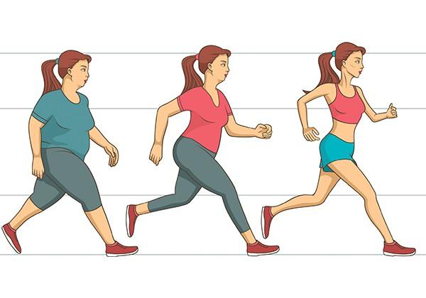 Tập thể dục giúp giảm cân trong 1 tháng