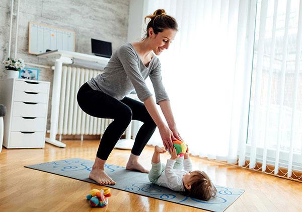 Các bài tập thể dục sau sinh mổ giúp giảm cân an toàn hiệu quả